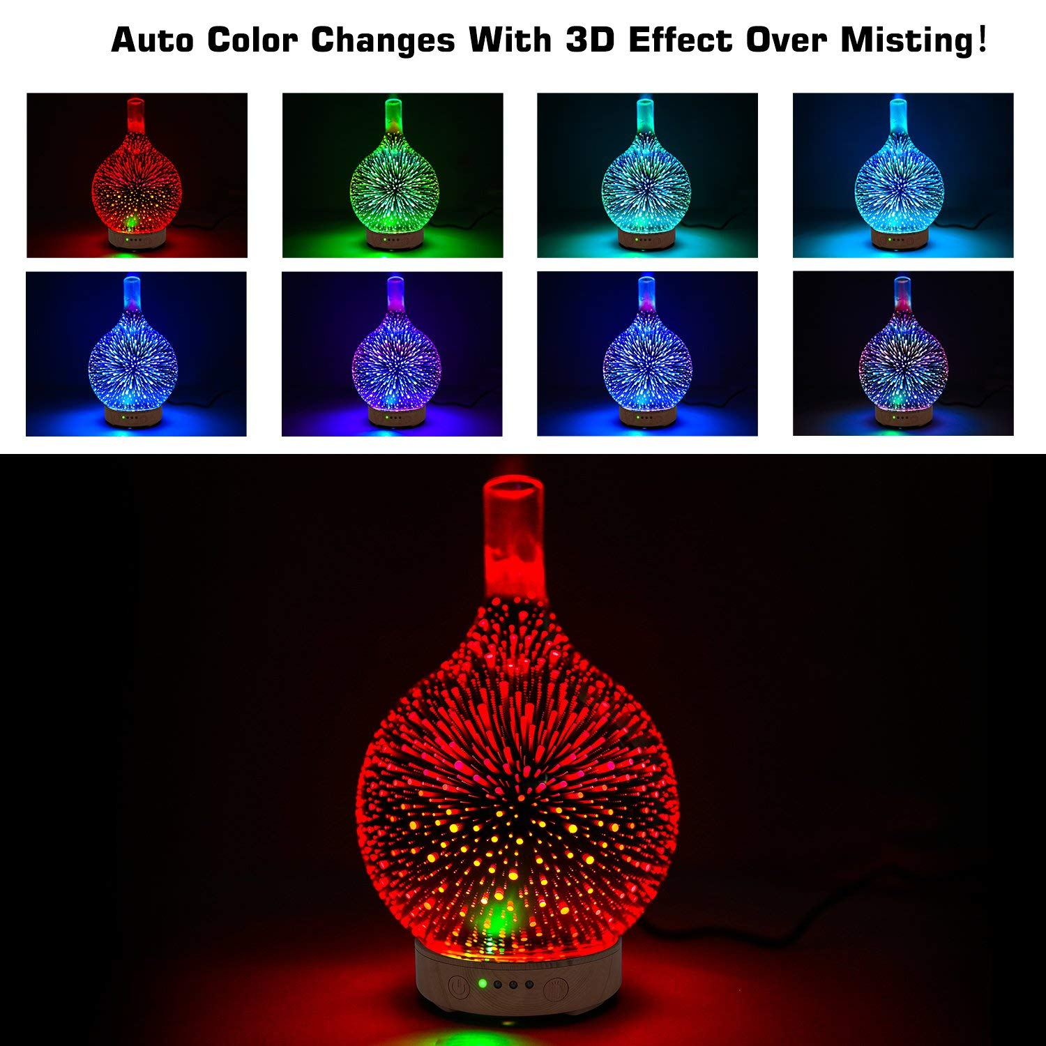 3D aromatherapy diffuser